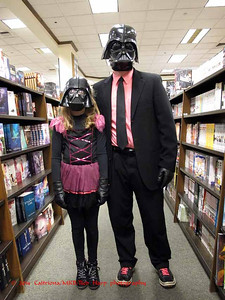 Princess Vader and Big Vader