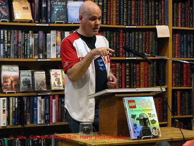 Jason Fry's talk about the book(s)