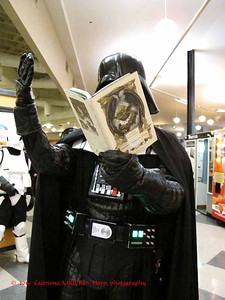 A reading by Lord Vader of The Empire Striketh Back
