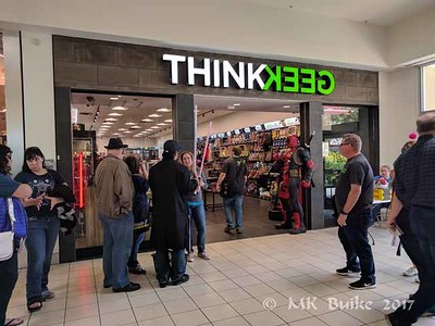 2017 0519 ThinkGeek store opening at Tacoma Mall