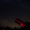 Danby's SCT pointing at Jupiter<br /> image by Malcolm Park