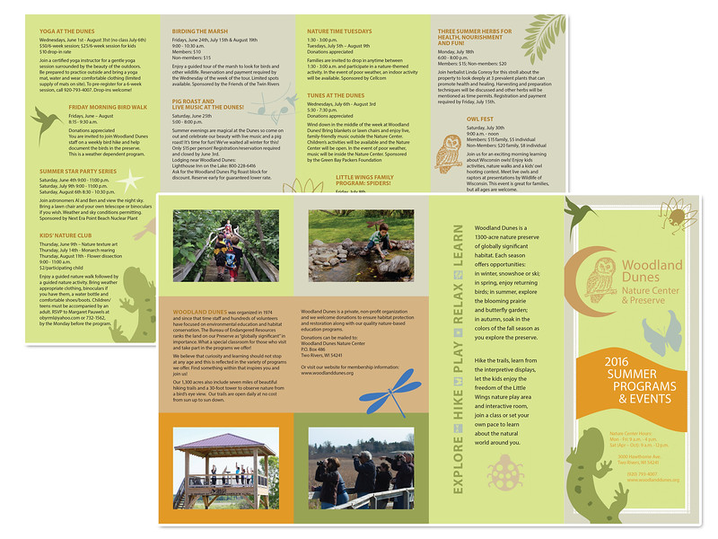 Summer Programs Brochure