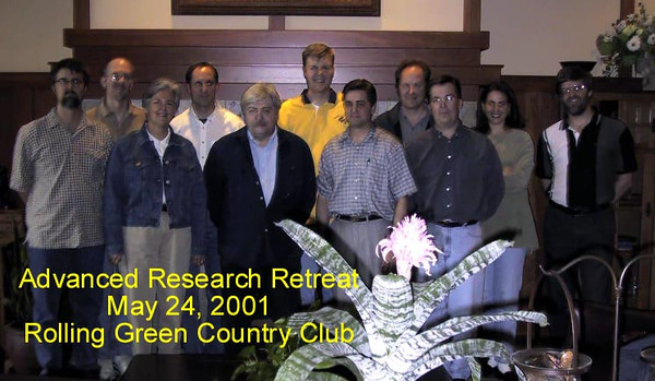 May 24, 2001, Starkey Advanced Research Retreat, Rolling Green Country Club