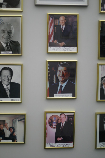 """Wall of Fame"" at Starkey Laboratories"