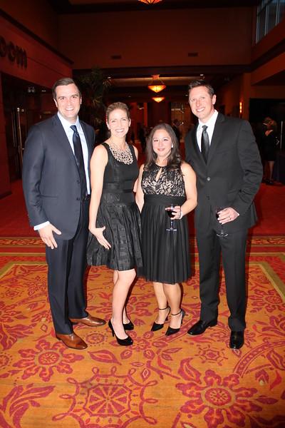 Jon and Krista Davis, Francesca and Robert Troast