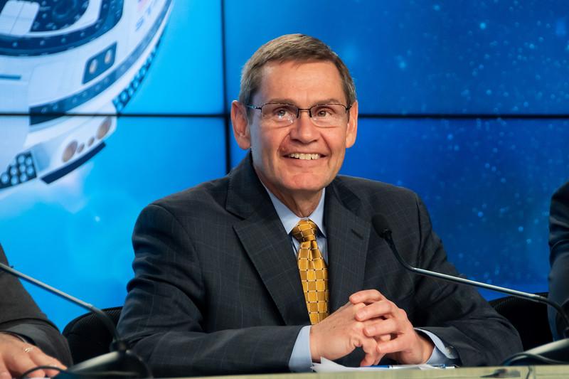 ULA COO John Elbon speaks ahead of the Orbital Flight Test