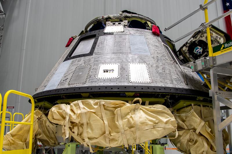 Starliner Pad Abort Test Vehicle