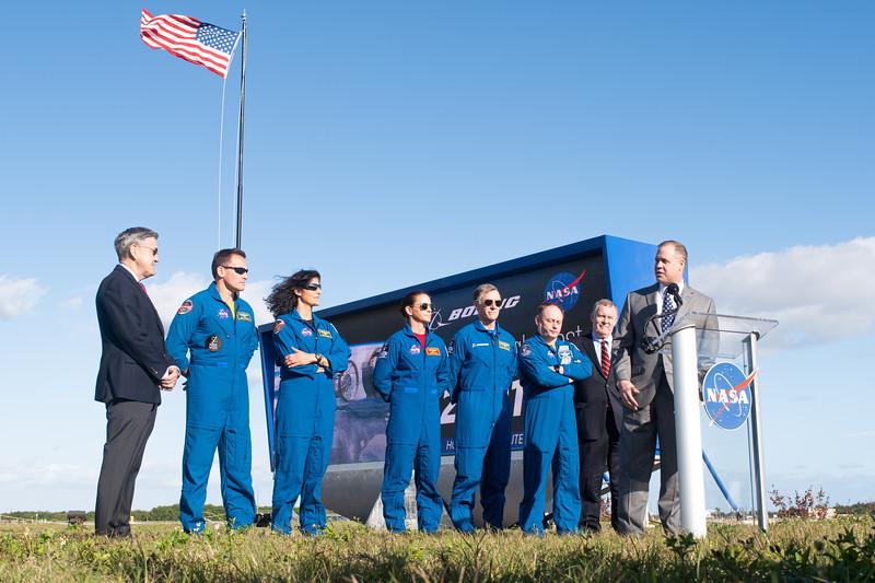 Pre-Orbital Flight Test Press Conferene