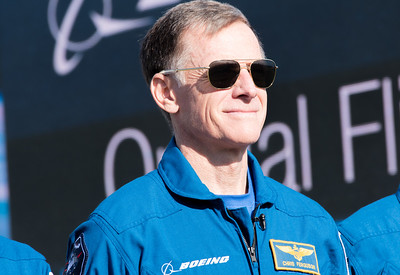 Boeing test pilot Chris Ferguson ahead of the Orbital Flight Test