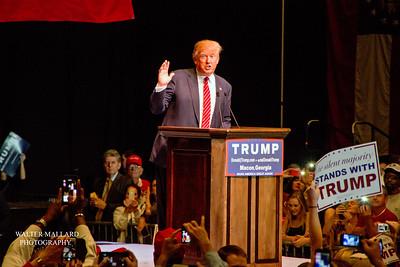Monday 11-30-15 U.S. Presidential Candidate Donald Trump in Macon, Georgia Photographer: Walter B. Mallard Jr.