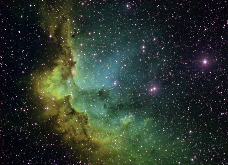 Wizard Nebula (NGC 7380)