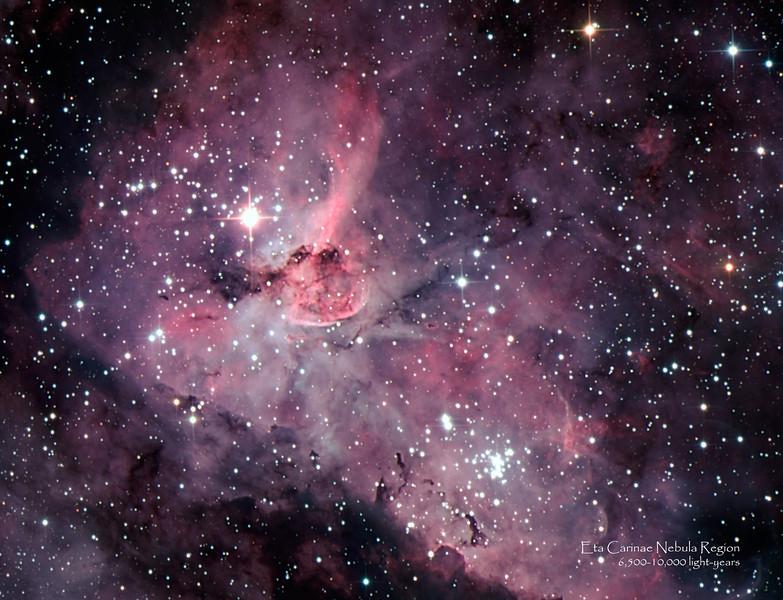 Eta Carinae Nebula - Detail
