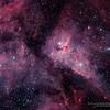 Eta Carinae Nebula Region