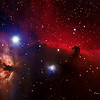 Horsehead (right) and Flame (left) Nebulas