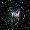 Thor's Helmet, NGC 2359 is an emission nebula