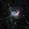 Thor's Helmet, NGC 2359 is an emission nebula