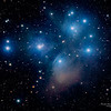 The Pleiades - 2014 - Luminance Pictures taken from New Mexico Observatory