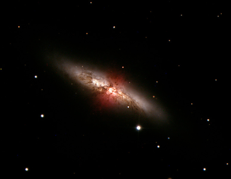 Cigar Galaxy or M 82