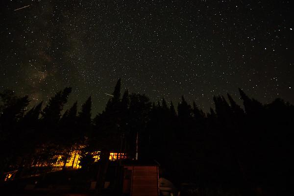 two meteors