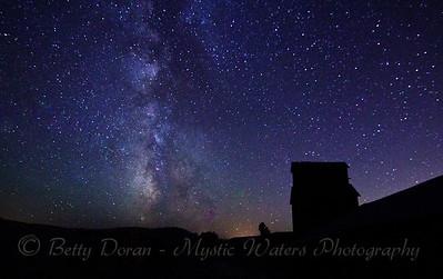 Milky Way greets the night sky