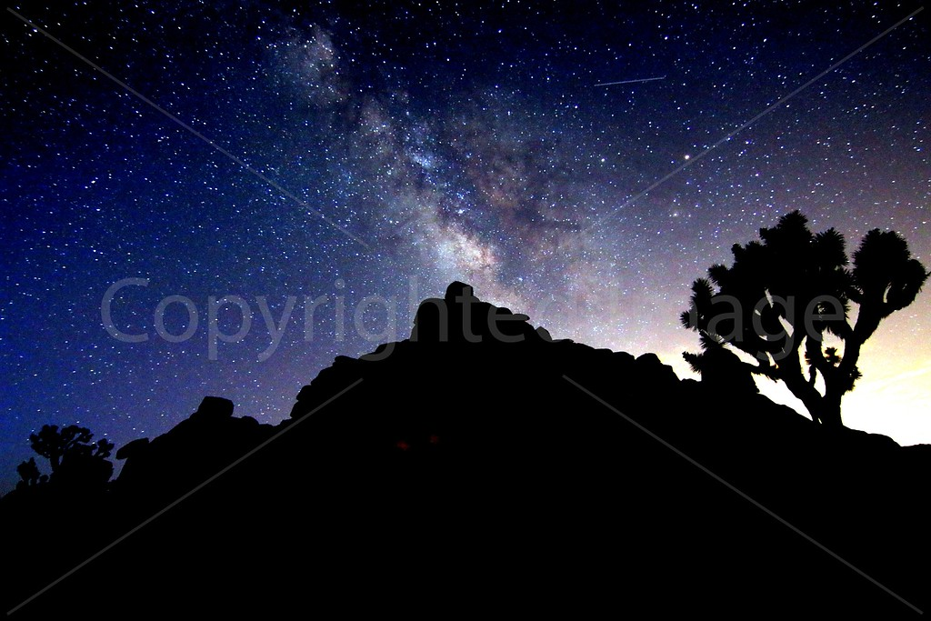 Milky Way at Joshua Tree