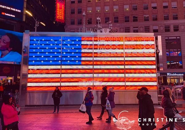 Time Square Stripes
