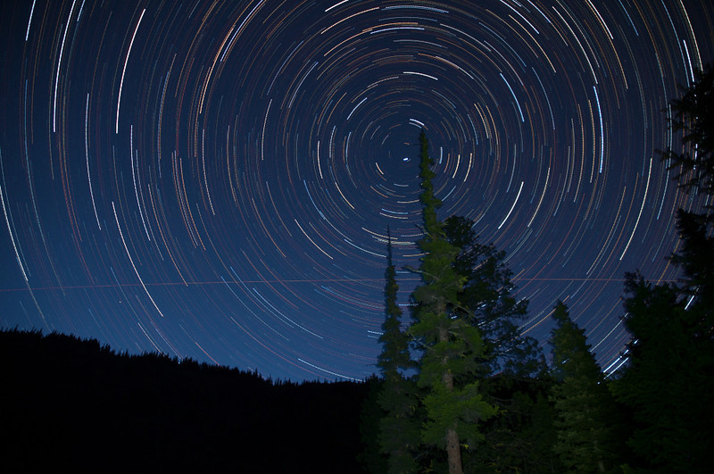 Bethel Ridge Star Trails