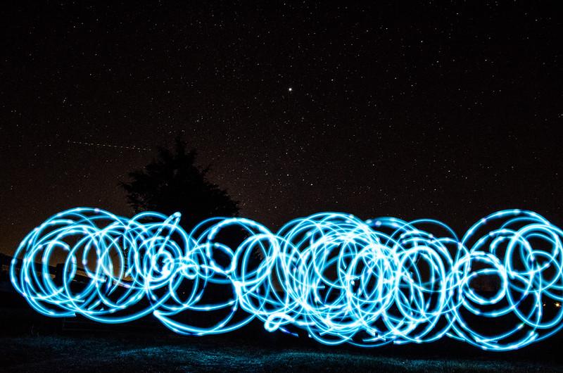 Lightpainting in Keswick