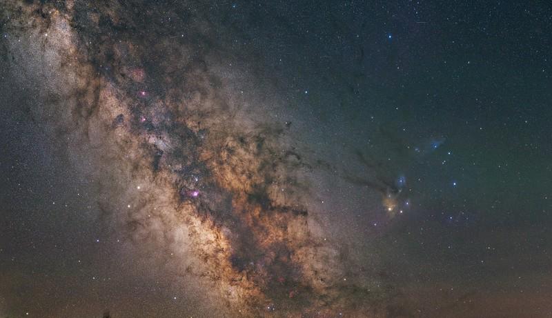 Milky Way Core Region