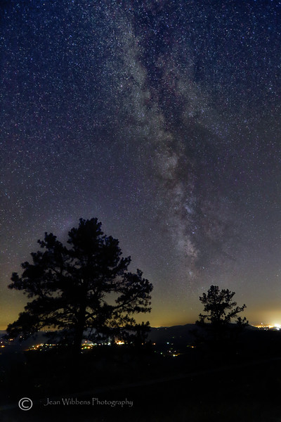 Milky Way at Pine Tree Lookout