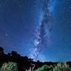 Skull and Milky Way, Teasdale, Utah