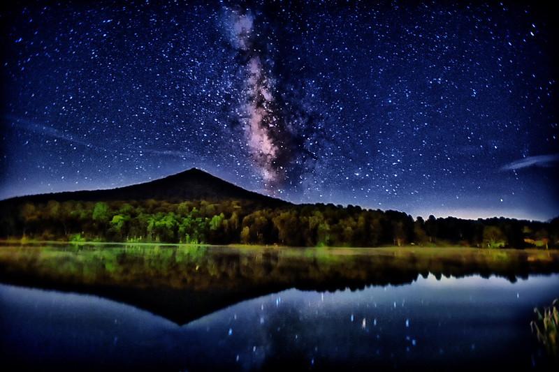 Mountain's Milky Beauty