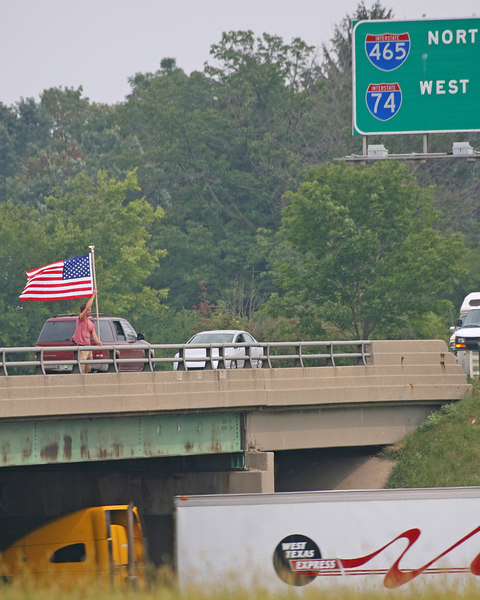 September 11, 2006, West 10th and Interstate 465, Indianapolis.