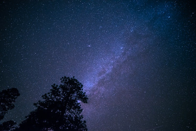 The Milky Way from Sunset Crater Volcano National Monument, AZ