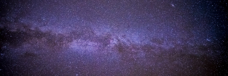 The Milky Way from Flagstaff, AZ