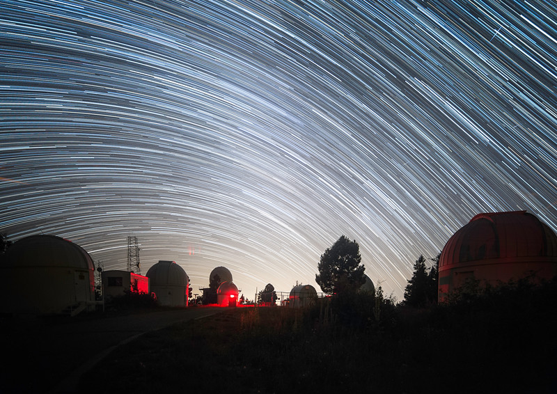 Mt. Lemmon University of Arizona SkyCenter Startrail Catalina Sky Survery