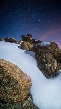 Stargazing atop Mt. Lemmon in Tucson, Arizona