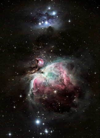 M42, M43, and The Running Man