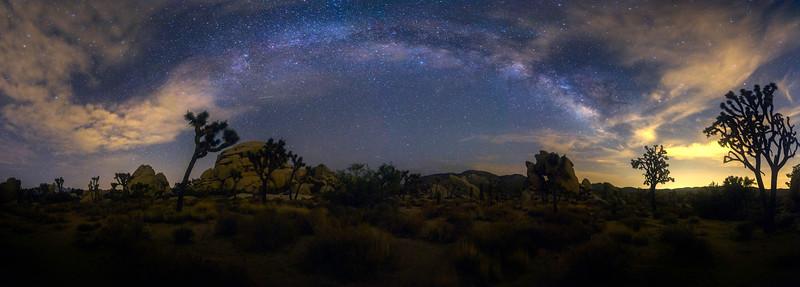 Milkyway in Joshua Tree National Park