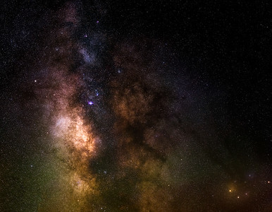 Our Beautiful Milkyway Core.