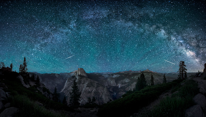 Milky Way Airglow