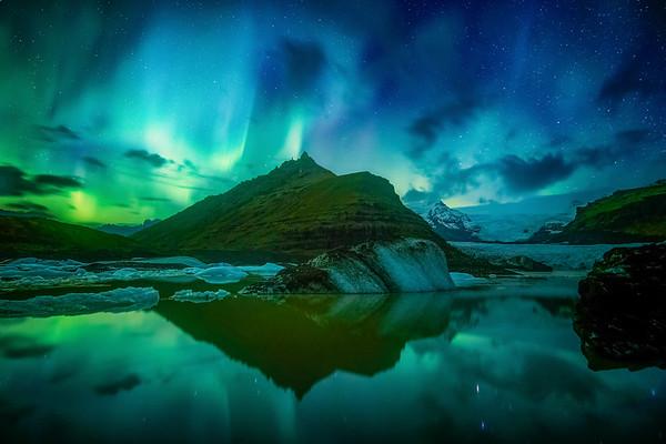 Svinafellsjokull Iceland