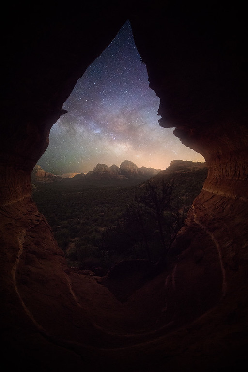 Sedona Milkyway in Secret Cave