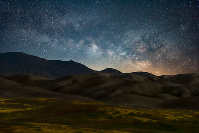 Wild Hills and the Milky Way
