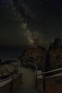 Milky Way over Thunder Hole