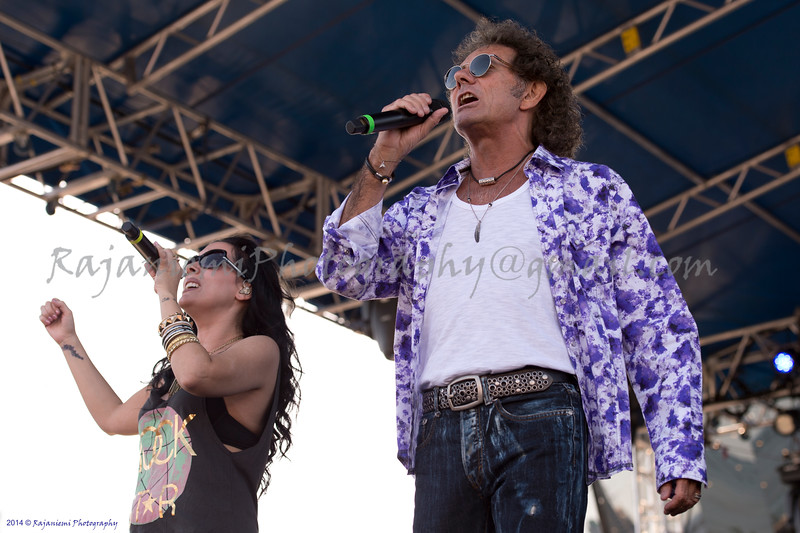 Mickey Thomas and Stephanie Calvert