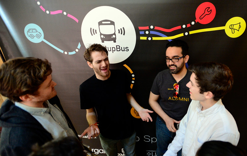 Start Up Bus in Boulder