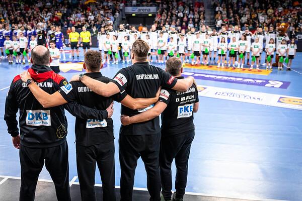 Handball Nationalmannschaft - EM Vorbereitung: Deutschland-Island