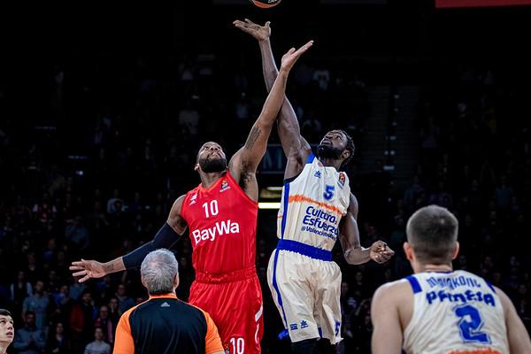 Basketball Euroleague: FC Bayern Muenchen Basketball-Valencia Baskets
