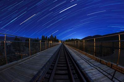 Kettle Valley Railway Startrail-Trout Creek